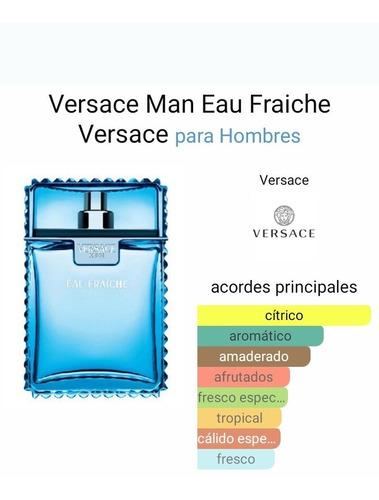 Perfume Hombre Man Eau Fraiche De Versace Edt 100 Ml