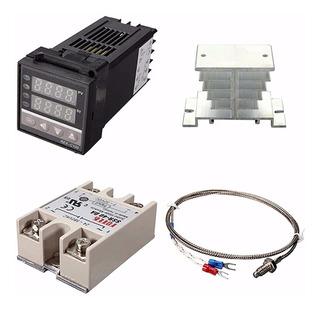 Control 1350 °c De Temperatura Programable, Ssr 40 Amp