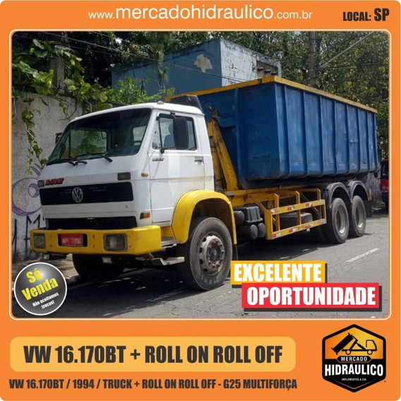 Vw 16.170bt / 1994 - Roll On Roll Off G25 Multiforça