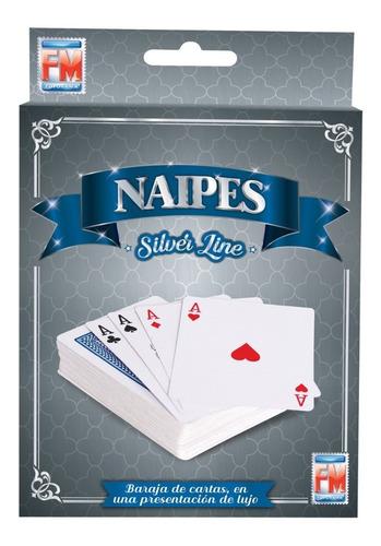 Imagen 1 de 6 de Juegos De Mesa Silver Naipes 1187