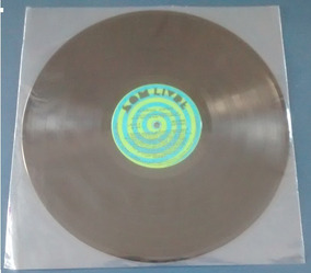 100 Capas Plástico Interno Lp Disco Vinil 32x32x0,06 - Fino
