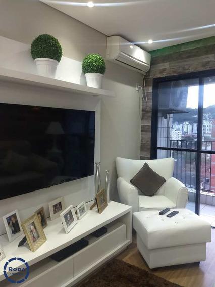 Apartamento Com 2 Dorms, Vila Belmiro, Santos - R$ 420 Mil, Cod: 16716 - V16716