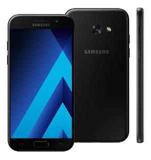 Samsung Galaxy A5 2017 A520f/ds 32gb Preto Original Vitrine