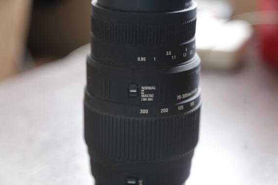 Lente Sigma 70-300mm F/4-5.6 Canon Usada