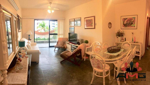 Imagem 1 de 19 de Apartamento Com 3 Dormitórios À Venda, 130 M² Por R$ 1.380.000,00 - Riviera - Módulo 4 - Bertioga/sp - Ap3066