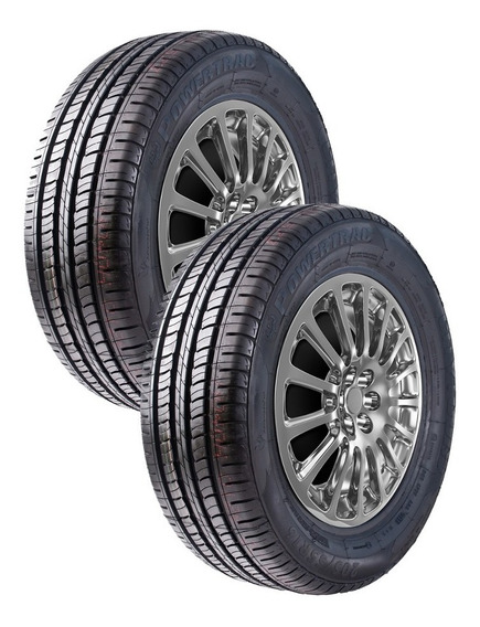 Kit Pneu 195/70 R14 91h Powertrac Citytour (2 Unid)