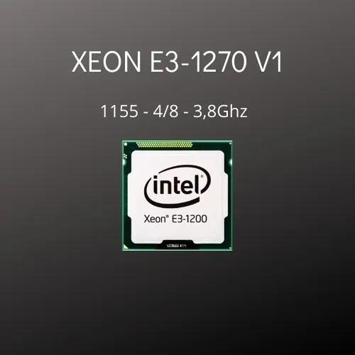 Intel Xeon E3 1270 V1 1155 4/8 - 3,8ghz + Brinde