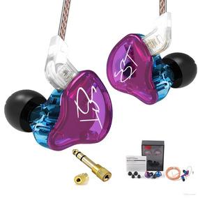 Fone In Ear Kz Zst Retorno Monitor Palco Esportes + P10