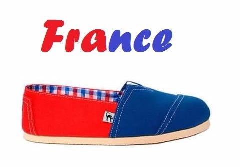 France - Alpargatas De Diseño Chequepasa