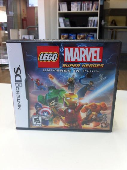 Lego Marvel Super Heroes Nds Nintendo Ds Legenda Ptbr Lacrad