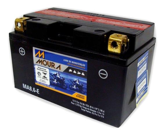 Bateria Moto Moura Ma8,6-e Ytz10s Hornet R1 R6 Bmw Cbr600 Rr