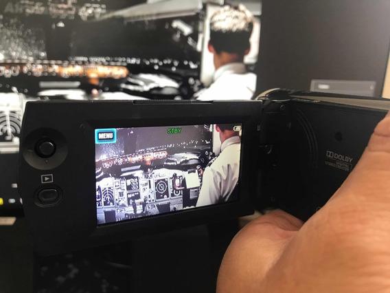 Filmadora Sony F/hd Hdr-pj230 + Case + Bolsa Impecável