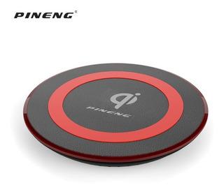 Carregador Wireless Qi Para iPhone X 8 S8 S8+original Pineng
