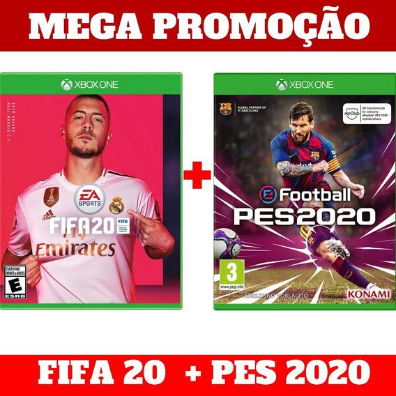 Fifa 20 + Pes 2020 Xbox One Promoção Especial