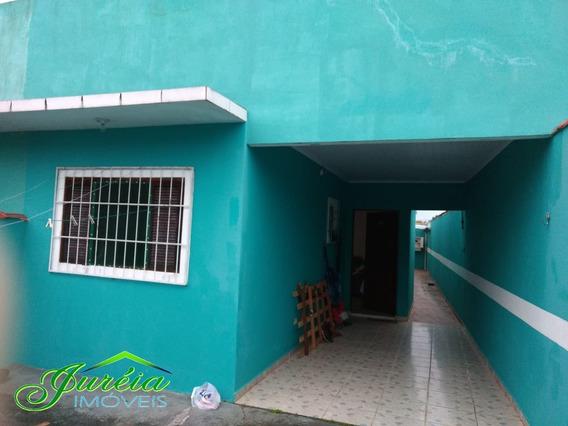 Casa Térrea No Jardim Ribamar - Peruíbe/sp Ref. C886