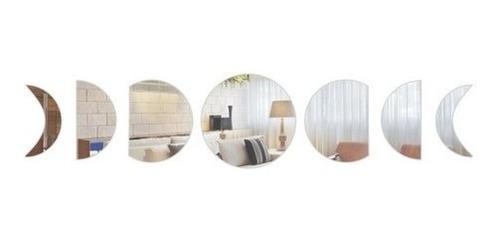 Imagem 1 de 5 de Espelho Decorativo Fases Da Lua Em Acrílico Promoção!