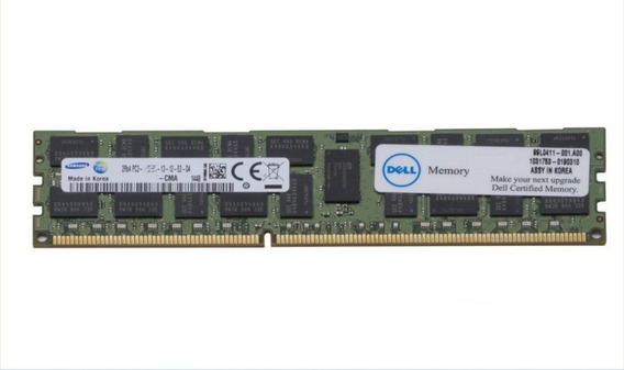 Dell 16gb Ddr3 Rdimm Poweredge R420 R520 R620 R720 R820