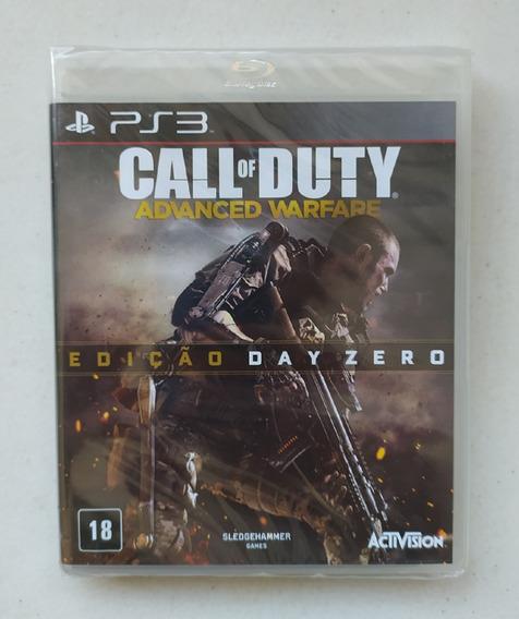 Call Of Duty Aw Advanced Warfare Ps3 Lacrado Ed. Day Zero Pt
