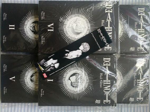 Mangá Death Note Black Edition Completo