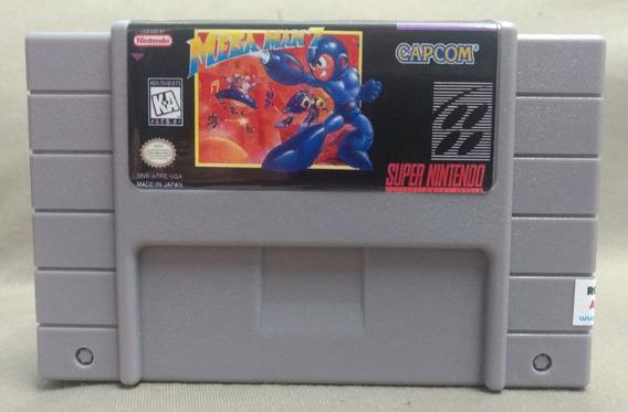 Fita Cartucho Jogo Mega Man 7 Super Nitendo Snes