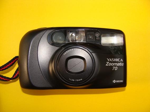 Maquina Fotografica Yashica Zoomate 70 - Não Funciona