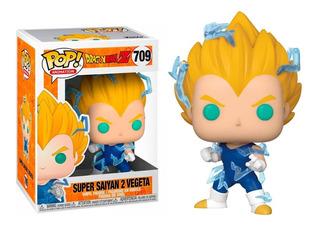 Funko Pop Super Saiyan 2 Vegeta #709 Exclusive Dragon Ball Z
