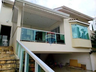 Casa Com 4 Dormitórios À Venda, 490 M² Por R$ 1.277.000 - Vila Oliveira - Mogi Das Cruzes/sp - Ca0097