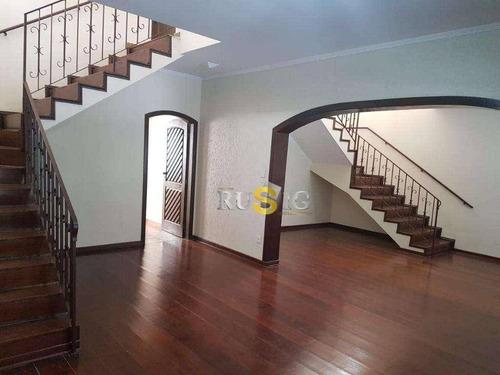 Imagem 1 de 20 de Sobrado Com 4 Dormitórios Para Alugar, 264 M² Por R$ 6.500,00/mês - Itaquera - São Paulo/sp - So0849