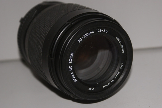 Minolta Md Sigma Uc 70~210/1:4 - 5.6 Macro