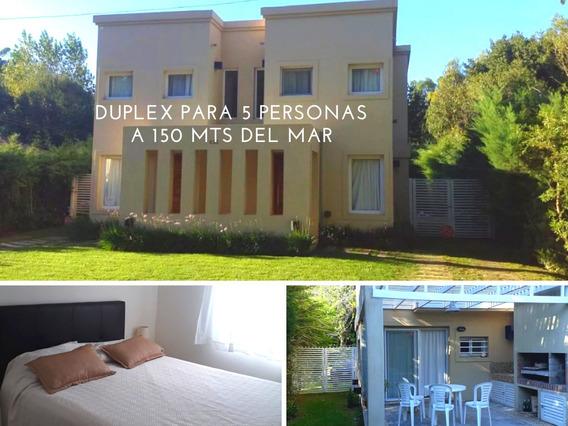 Valeria Del Mar Duplex 150 Mts Del Mar 5 Pers. Marzo