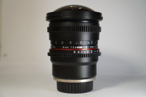 Imagem 1 de 7 de Lente Rokinon Cine 8mm Para Sony E-mount