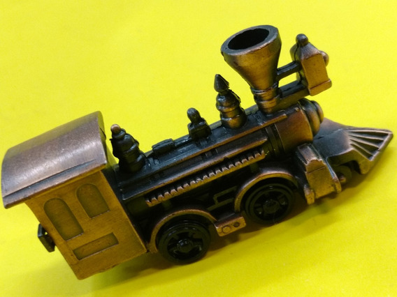 Locomotora Tren Miniatura Colección Metal Sacapuntas Alt Cal