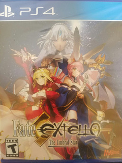 Fate Extella The Umbral Star Noble Ps4 Delivery Stock Ya