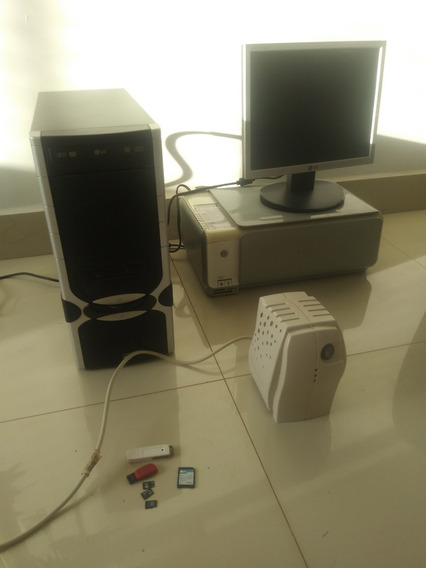 Computador De Mesa E Impressora Multifuncional