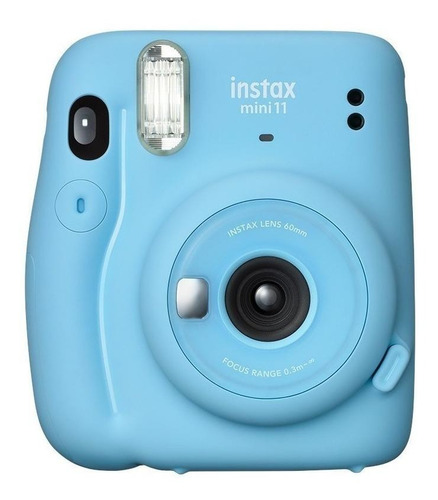 Cámara instantánea Fujifilm Instax Mini 11 sky blue