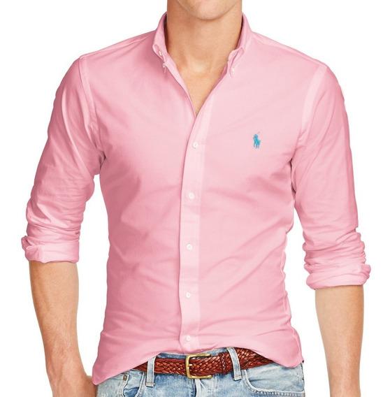 Kit 2 Camisa Social Armani Abercrombie Ralph Lauren