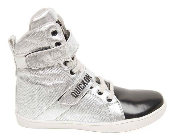Botinha De Treino Fitness Feminina Sneakers Quickon Diamond