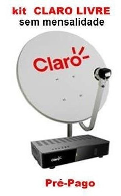 Kit Claro Tv Pré Paga