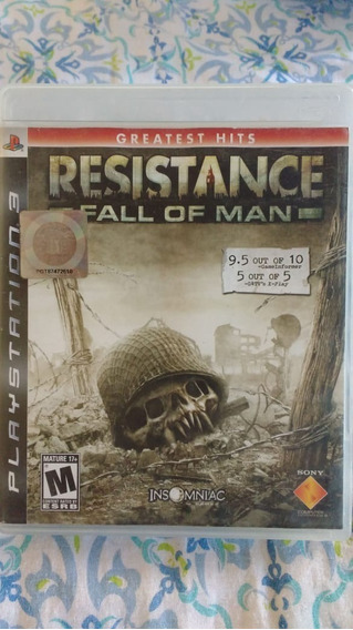Resistance Fall Of Man(leia) - Ps3