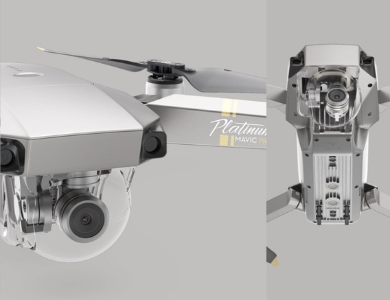 Drone Dji Mavic Platinum Fly More Combo 3 Baterias