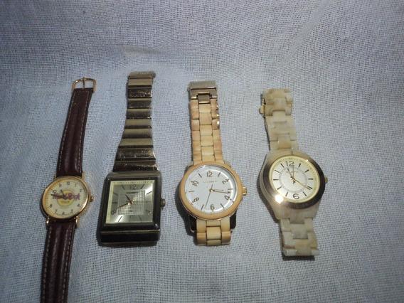 Lote Relógios Technos Mondaine Sem Pilha Ou Funcionamento