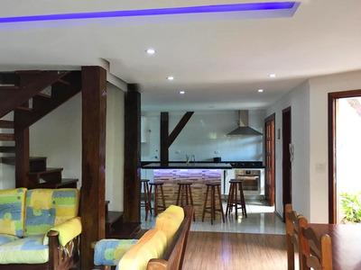 Casa Em Jardim Três Marias, Guarujá/sp De 229m² 3 Quartos À Venda Por R$ 480.000,00 - Ca224492