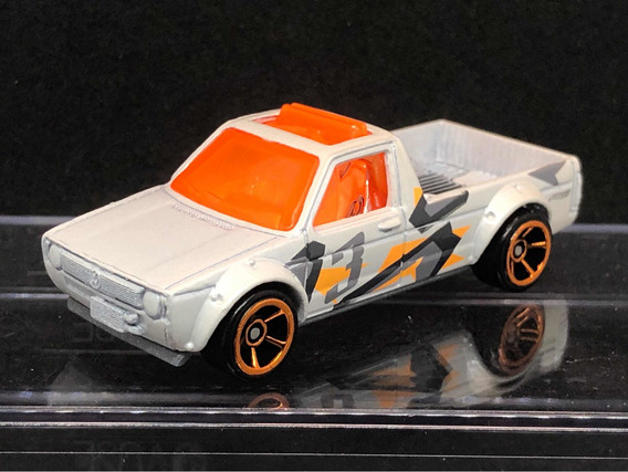 Hot Wheels Volkswagen Caddy Loose Branco Pérola