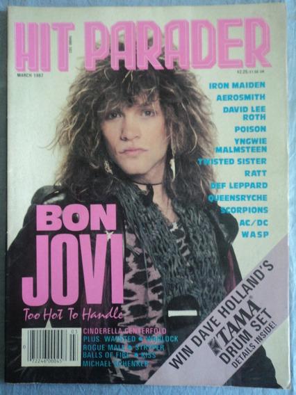 Revista-hit Parader:1987:bon Jovi:n.270:cinderella.rock