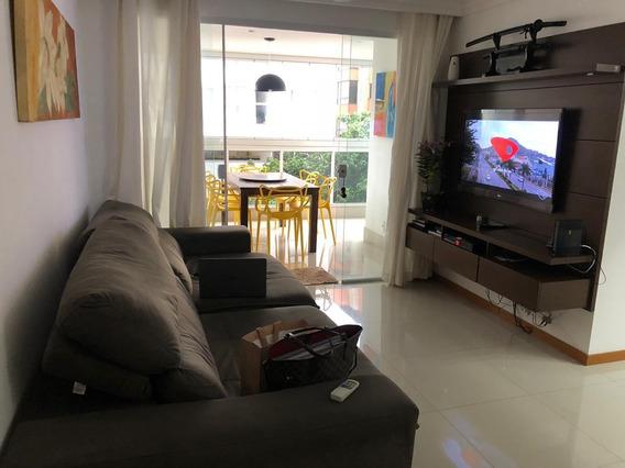Apartamento Em Itapuã, Vila Velha/es De 110m² 3 Quartos À Venda Por R$ 600.000,00 - Ap269356