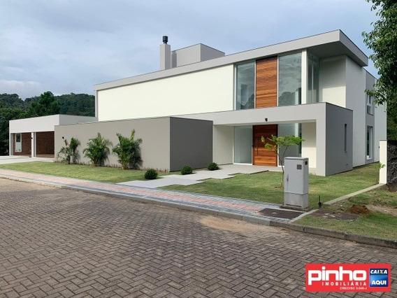Casa 06 Dormitórios (04 Suítes), Vivá Residence Cacupé, Locação, Bairro Cacupé, Florianópolis, Sc - Ca00310