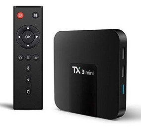 Internet Em Sua Tv Box Tanix Tx3 Mini Nova Digital Promoção