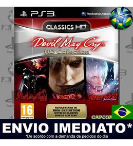 Jogo Devil May Cry Hd Collection Midia Digital Ps3 Envio Já