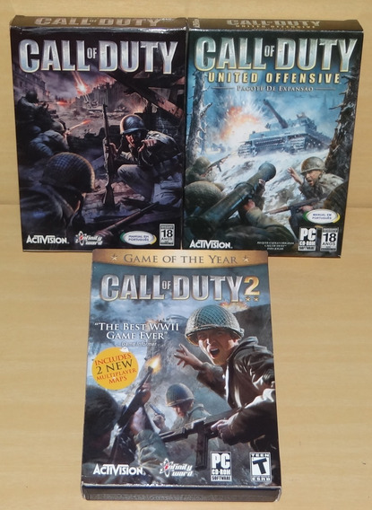 Call Of Duty 1 + Cod - United Offensive + Cod 2 - Pc