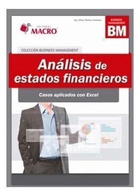 Libro Análisis De Estados Financieros - Casos Con Excel